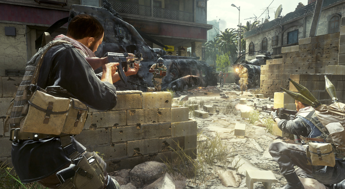 """""""Where's the Infinite Warfare image?"""" - never going to happen. But, be sure to enjoy the Modern Warfare Remastered throwback"""