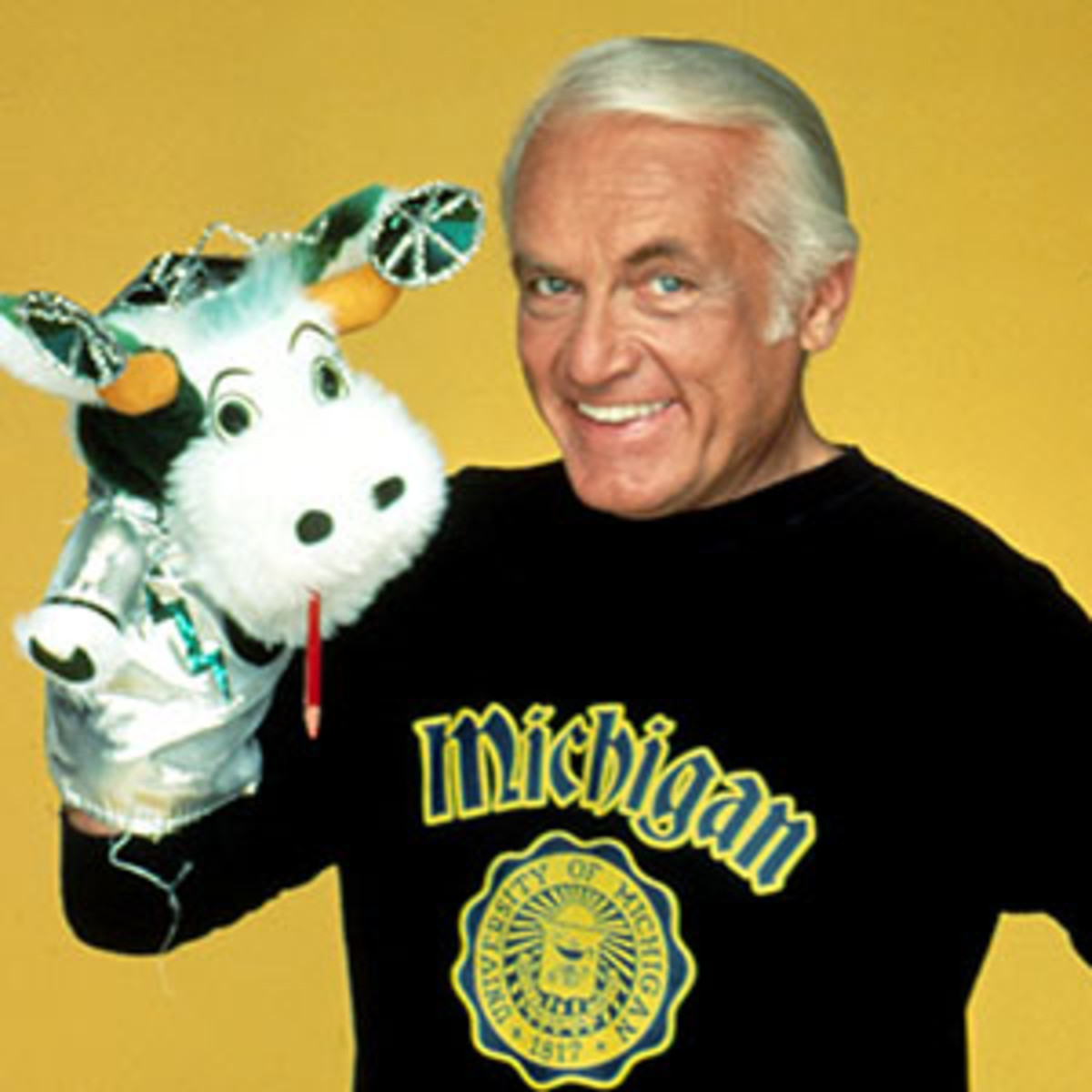 "Ted Knight as ""Henry Rush"" in Too Close for Comfort"