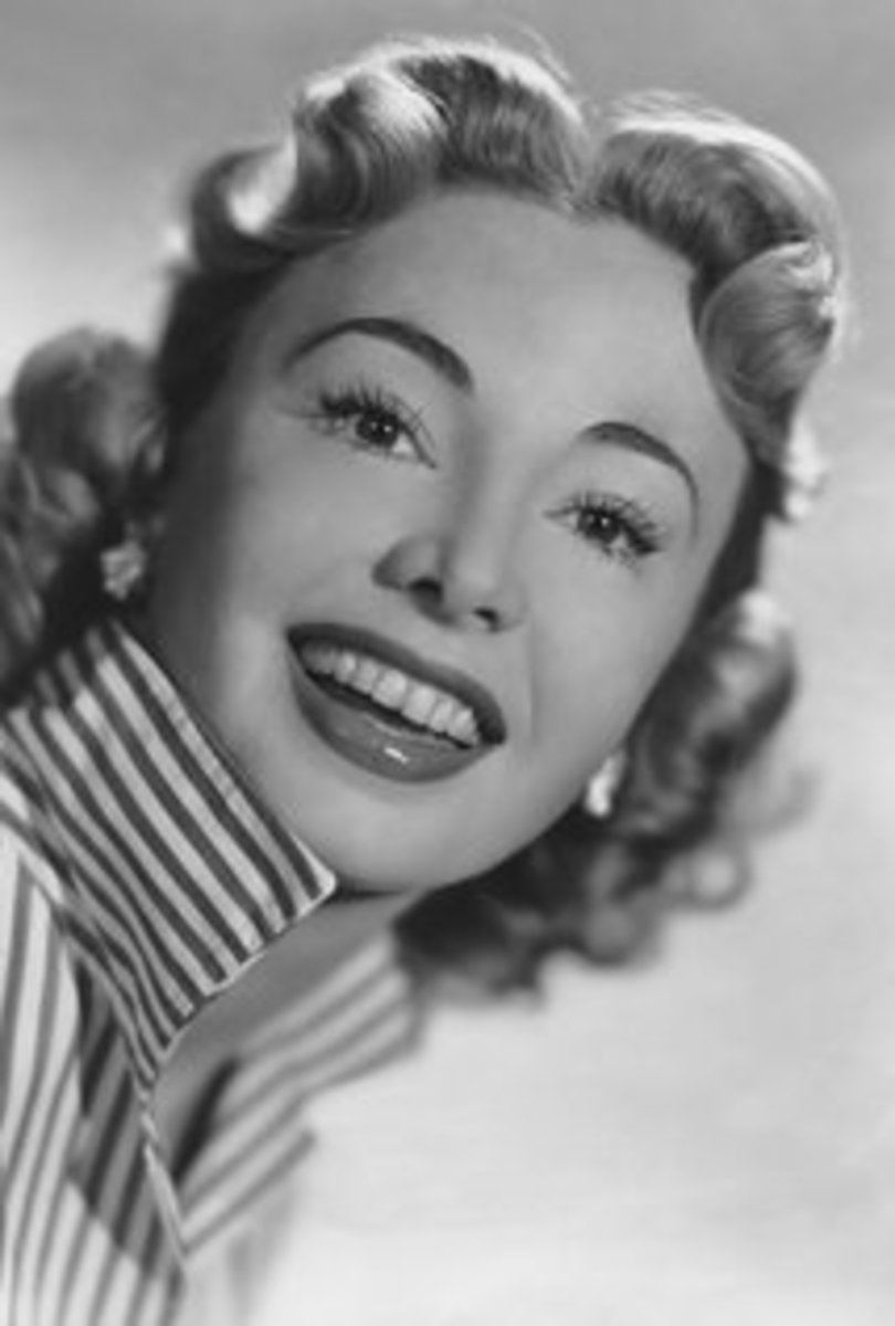 Young Audrey Meadows
