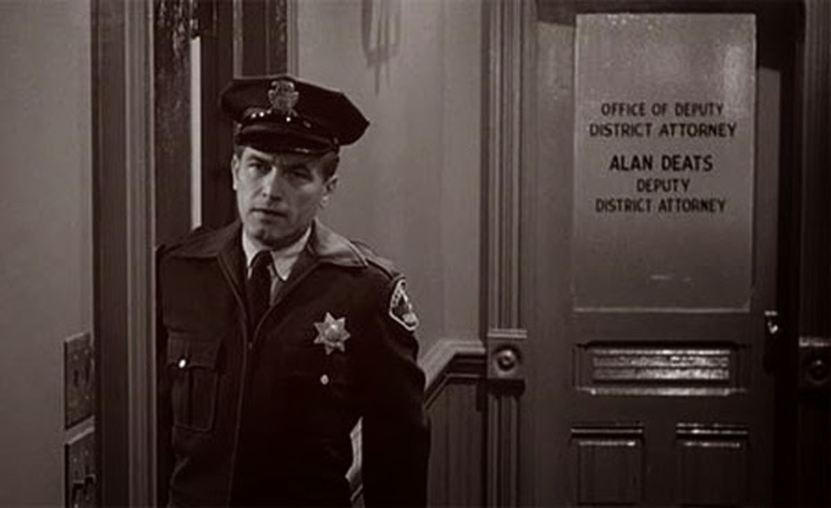 "RIP Ted Knight (1923 - 1986) | Ted Knight in His Cameo Appearance in the end scene of Alfred Hitchcock's film. ""Psycho"