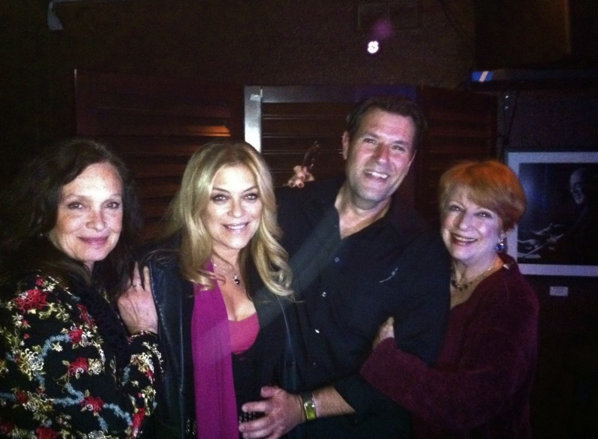 "Principal Cast of ""Too Close For Comfort"" at a 2011 Reunion | Deborah Van Valkenburgh, Lydia Cornell, Jim J. Bullock and Nancy Dussault"