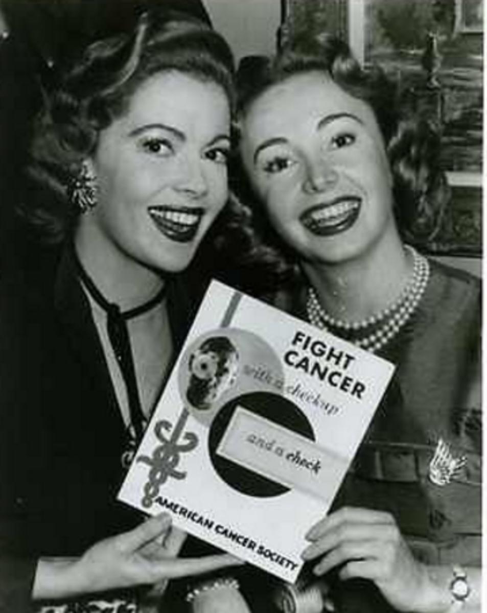 Jane Meadows & Audrey Meadows (Sisters)
