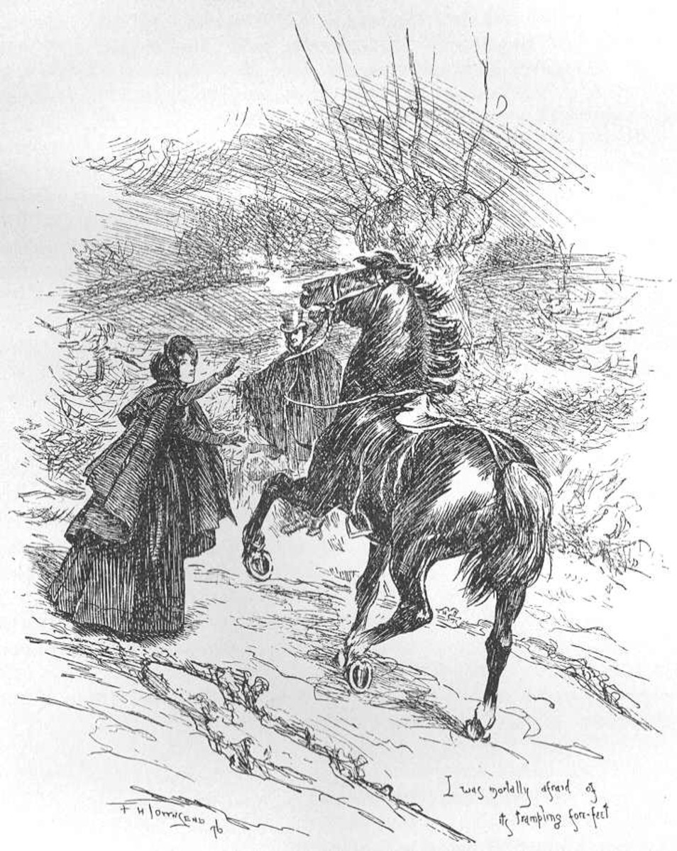 The Gytrash as depicted in Jane Eyre