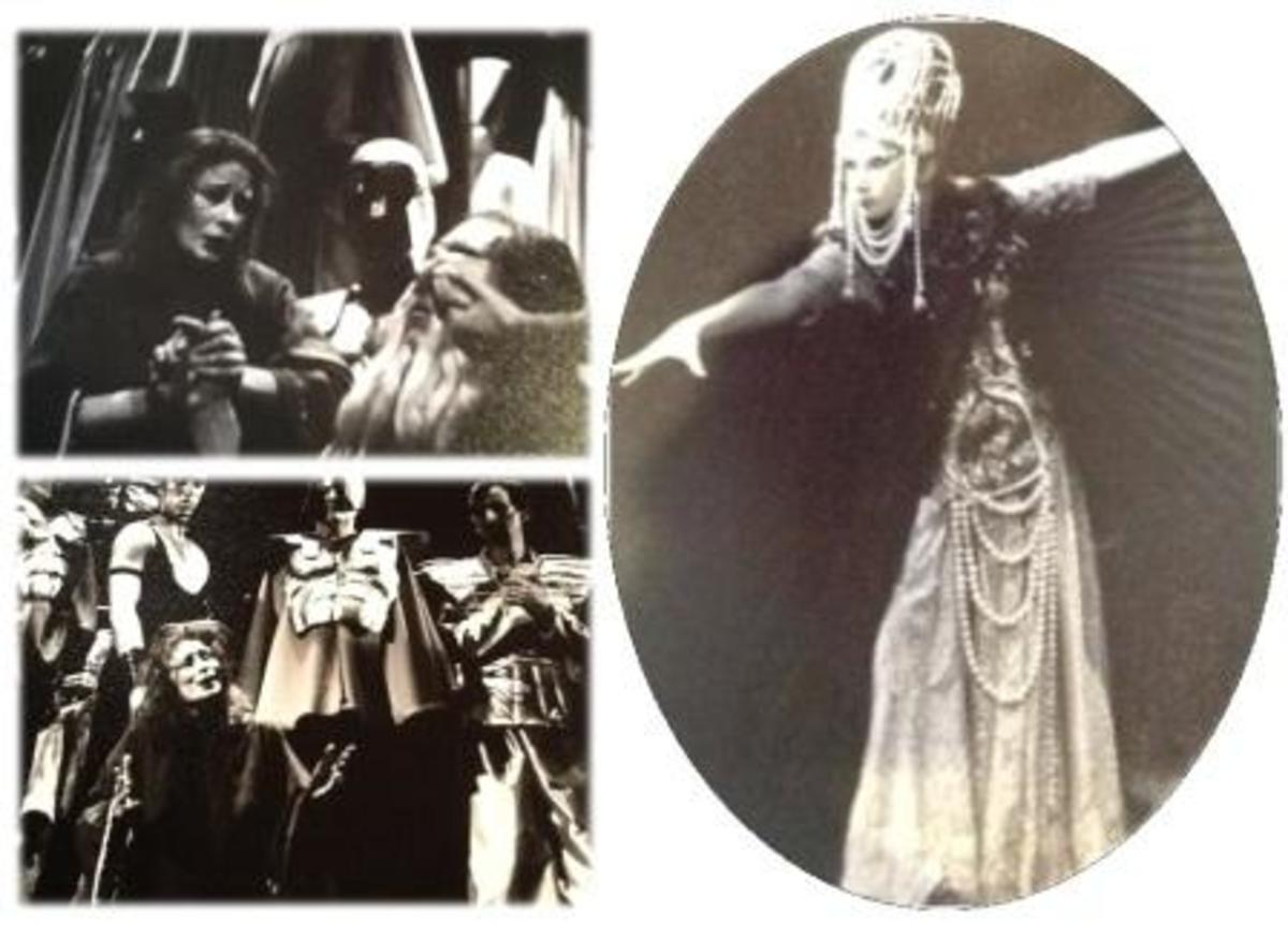 Anne performed major roles in Puccini's Turandot and Mozart's The Magic Flute.
