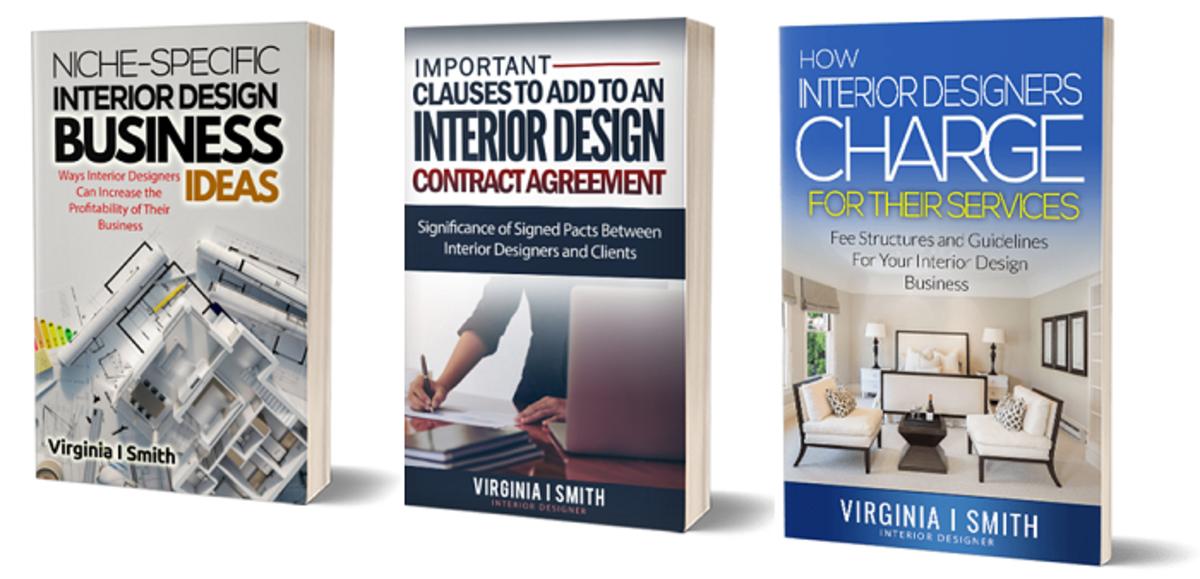Important eBooks for beginner interior designers and students of interior design