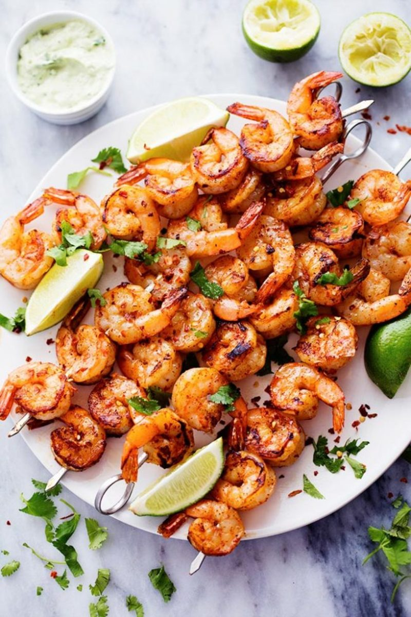 Spicy Lime Shrimp