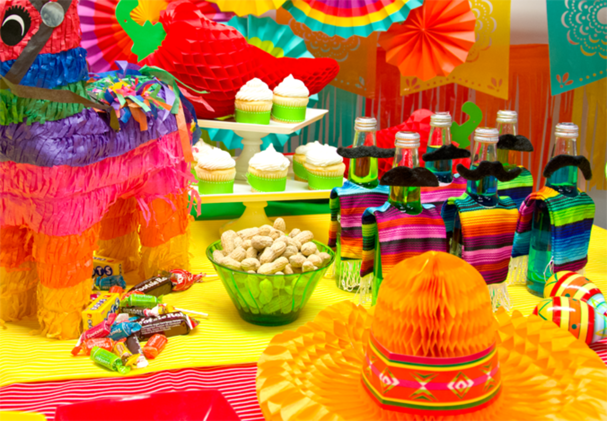 Mexican Party Table