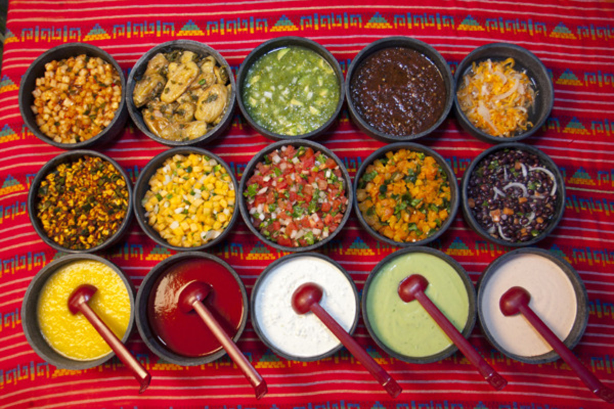Mexican Dip Stand