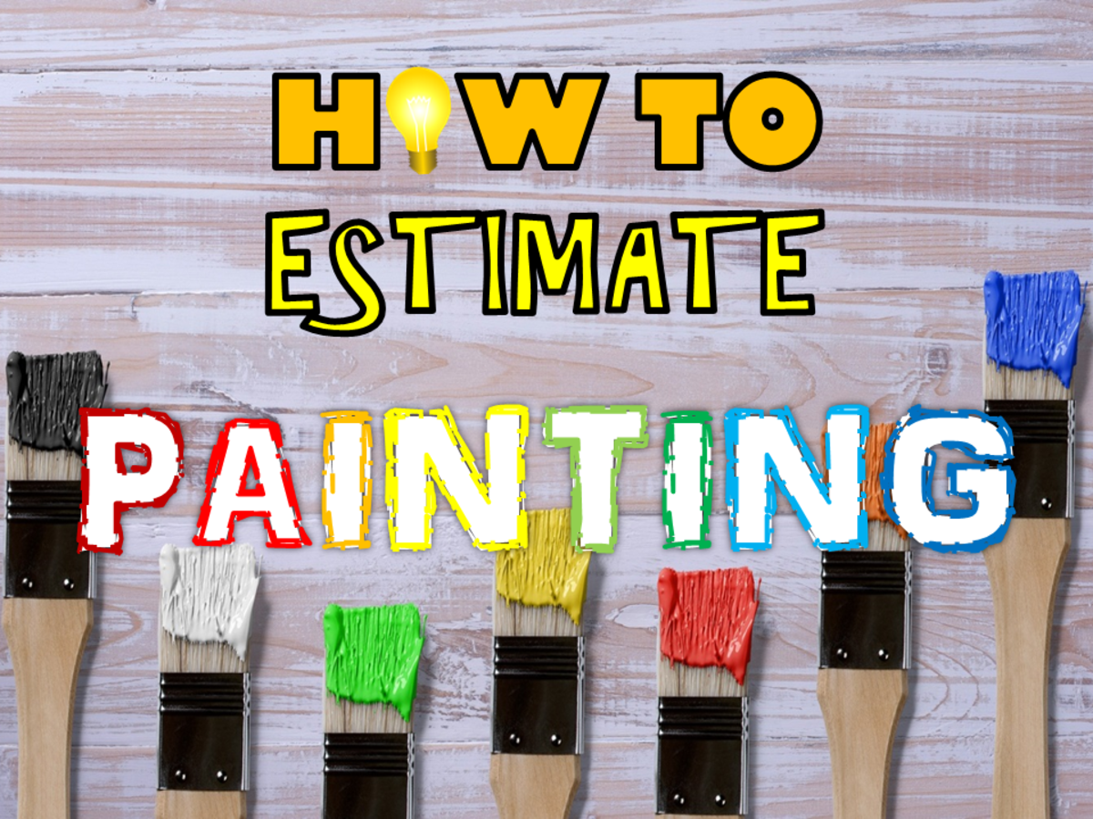 How to Estimate Painting for Walls, Roofs, and Wood Surfaces