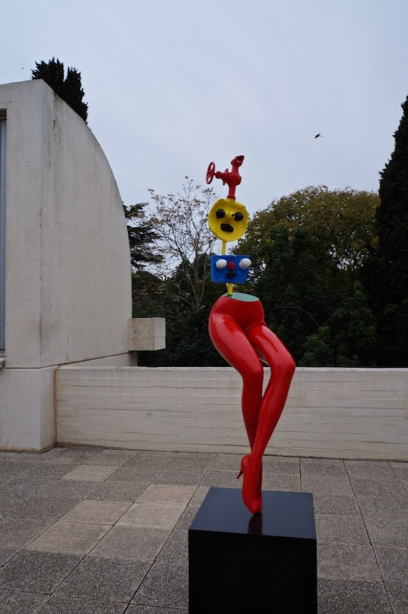 Joan Miro Sculpture