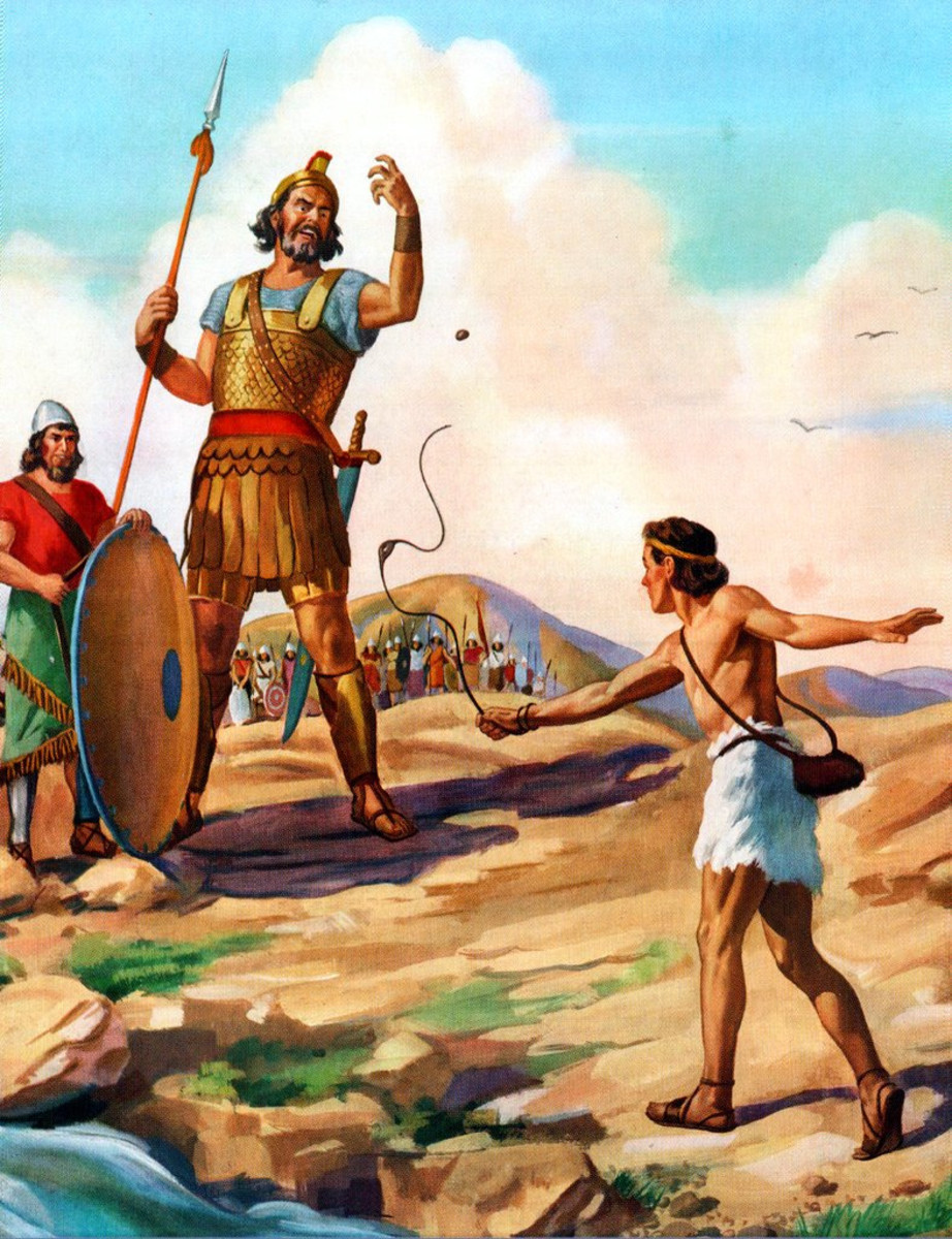 David Did Not Kill Goliath With His Slingshot