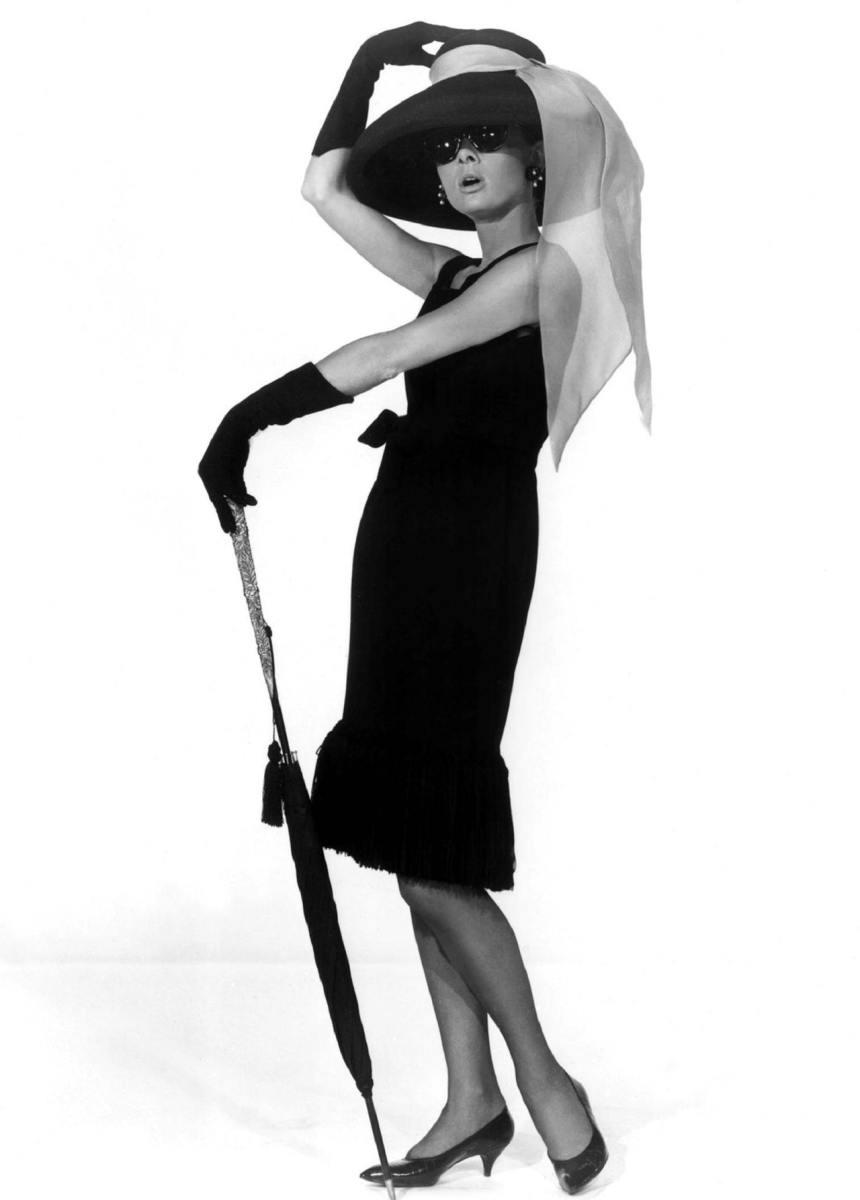 "Little Black Dress - Audrey Hepburn ""Breakfast at Tiffany's""."