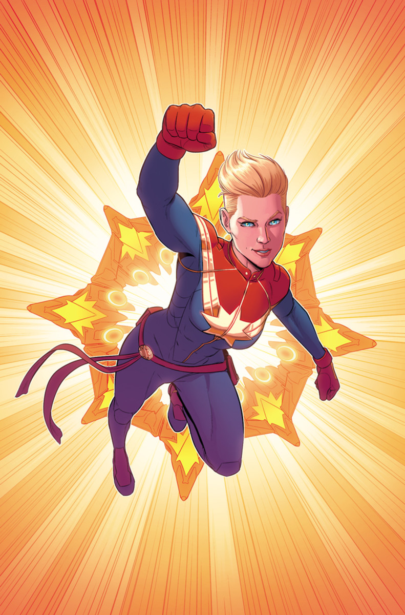 Marvel Carol Danvers From Warbird to Captain Marvel