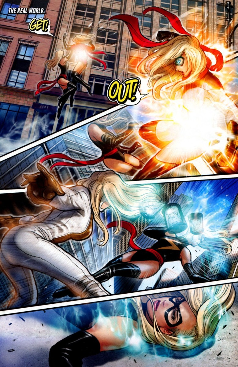 Ms. Marvel #46 Completes the War of the Marvels story line.