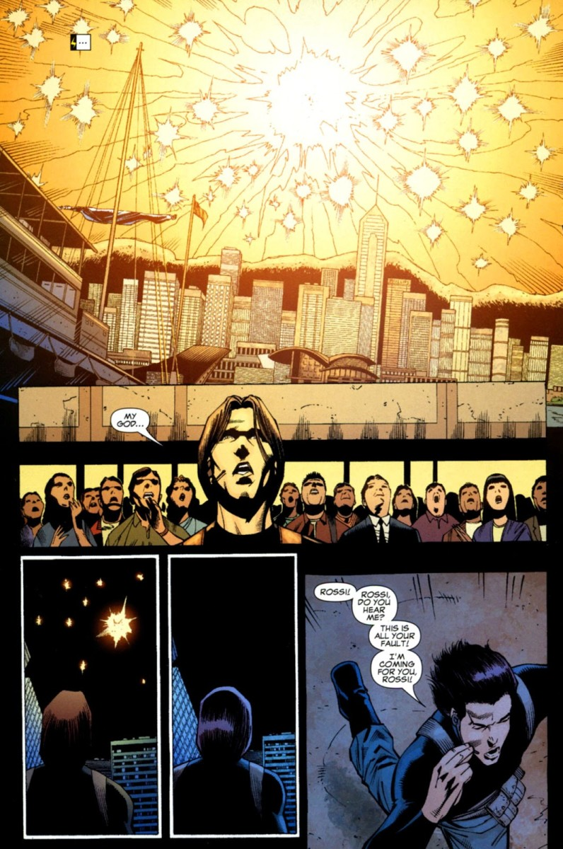 Pages above from Ms. Marvel #36 of the 2006 or volume 2 comic book series.