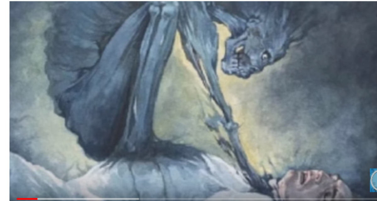 Sleep paralysis and nght terrors seem real
