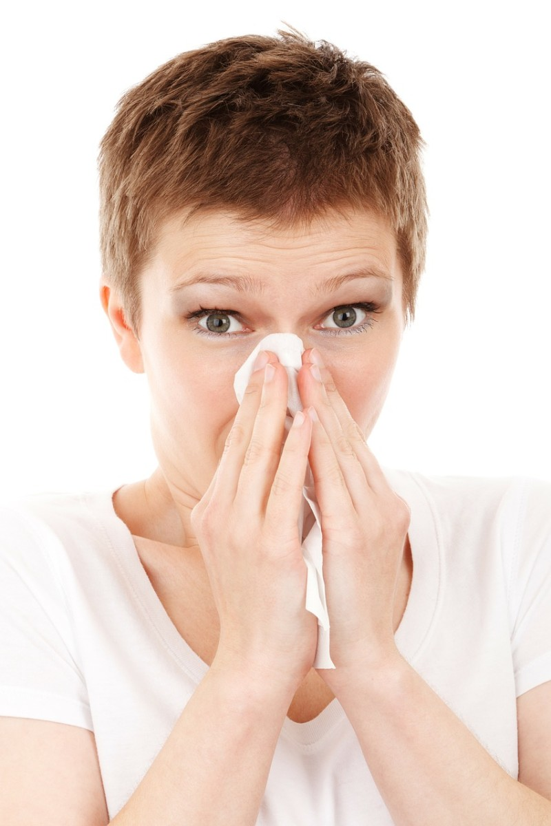 A small crac or fully open window can prevent sniffles and sneezes.