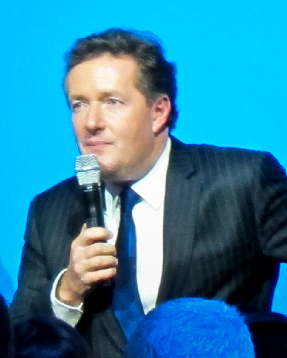 English journalist Piers Morgan