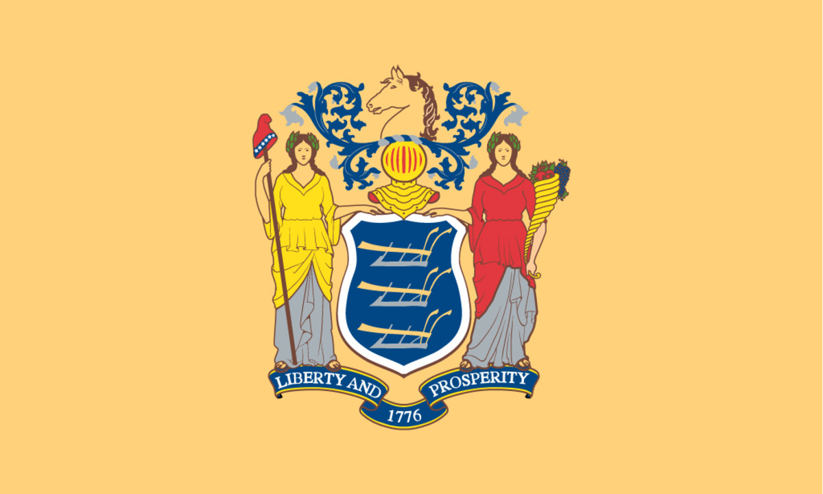 State flag of New Jersey