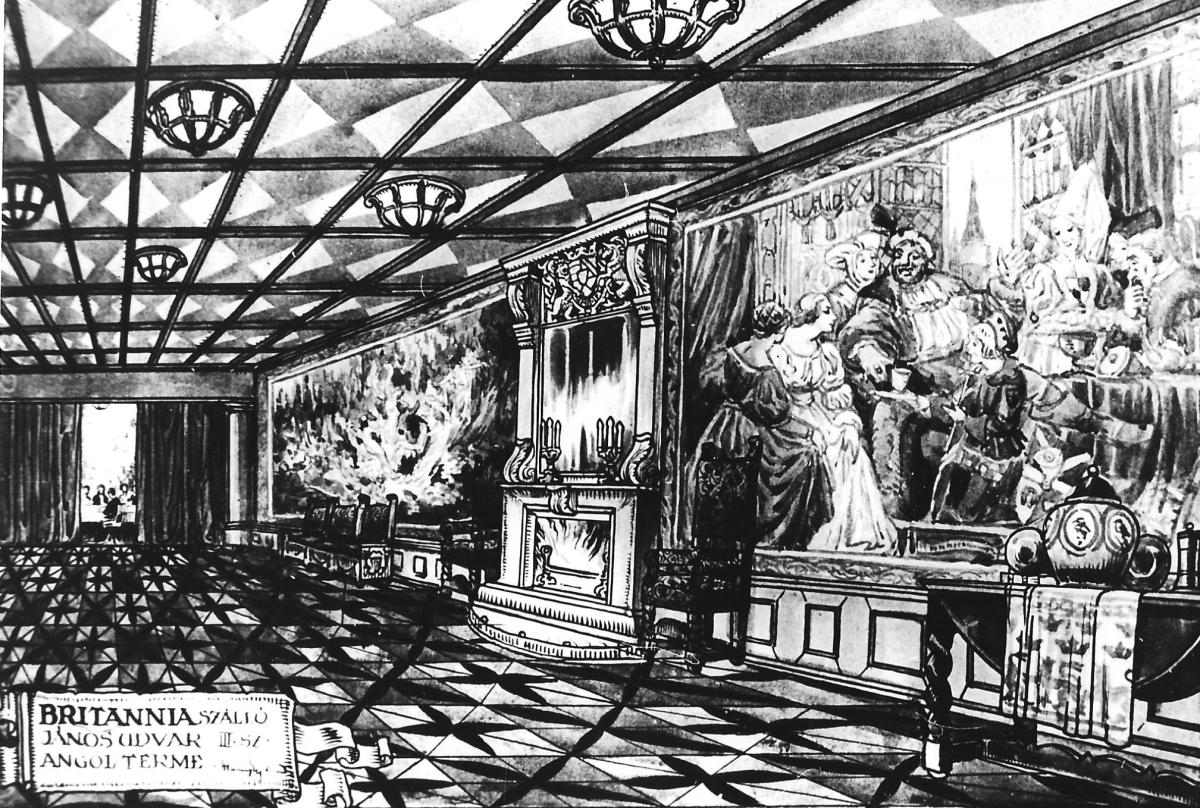 """Aladár Németh and his wife brought about the """"golden age"""" of the hotel, because they honed the catering and entertainment to perfection."""