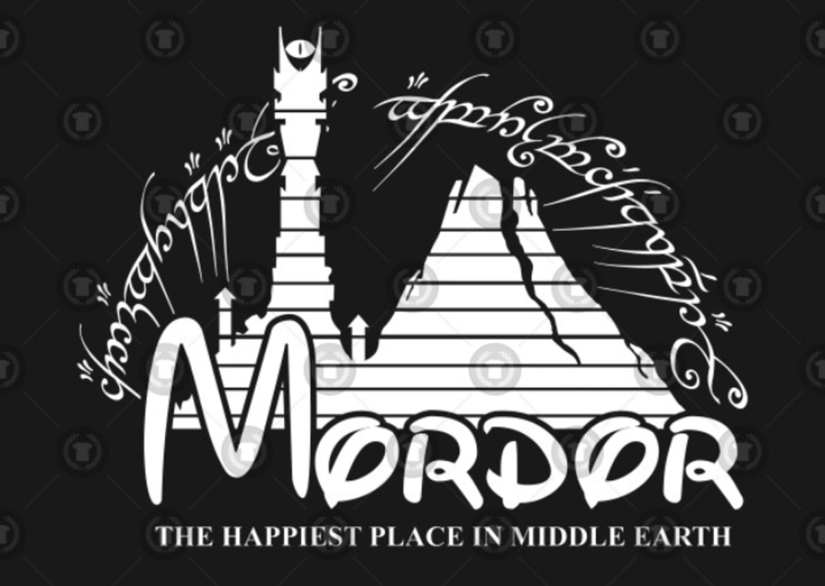 Disney to Mount Doom