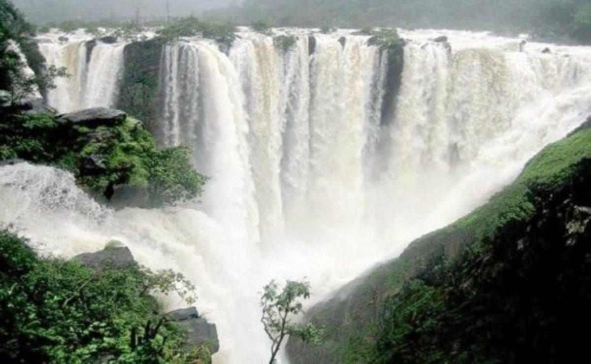 Kunchikal Waterfalls, Karnataka