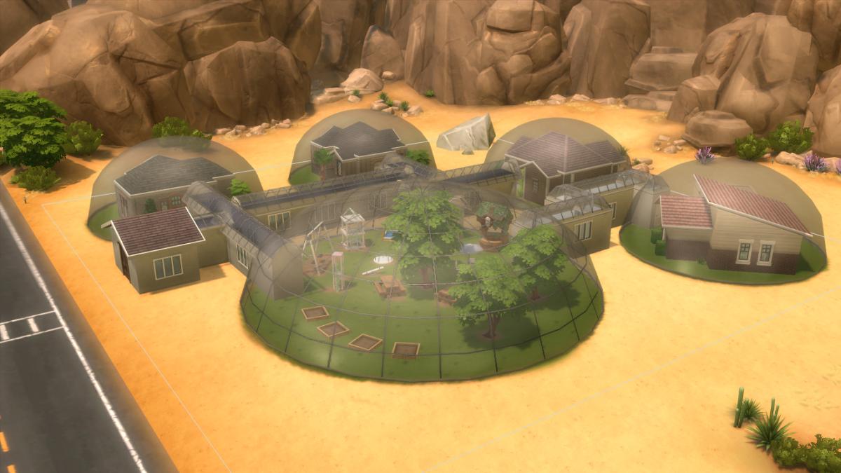 Mars Colony The Sims 4