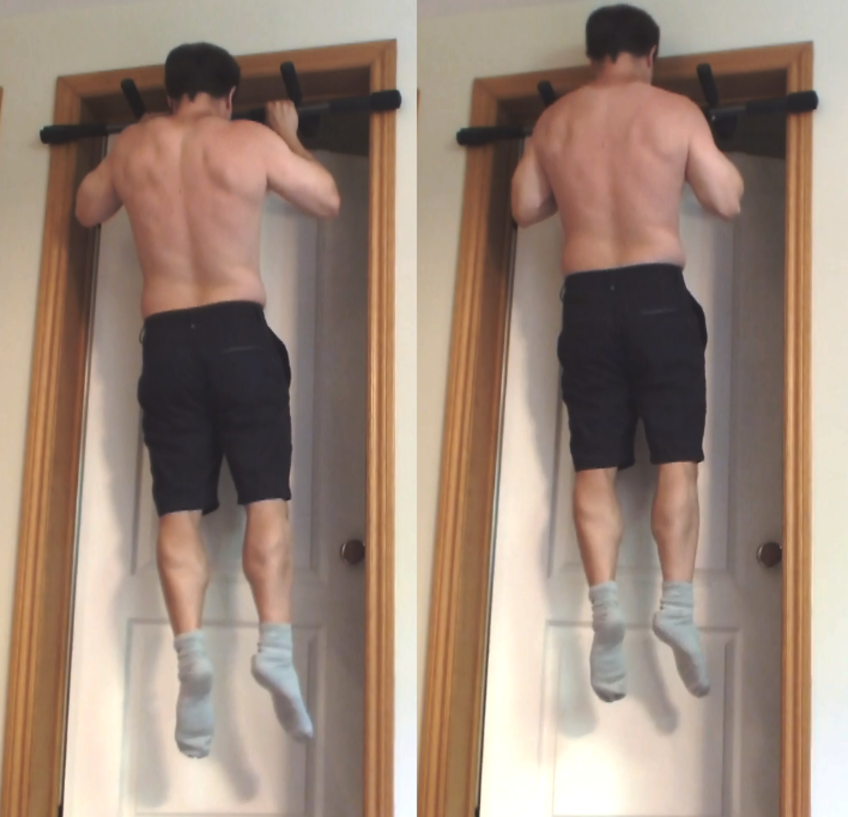 30 Day Pull Up Challenge. Pull Ups and Chin Ups. Before and After Results.