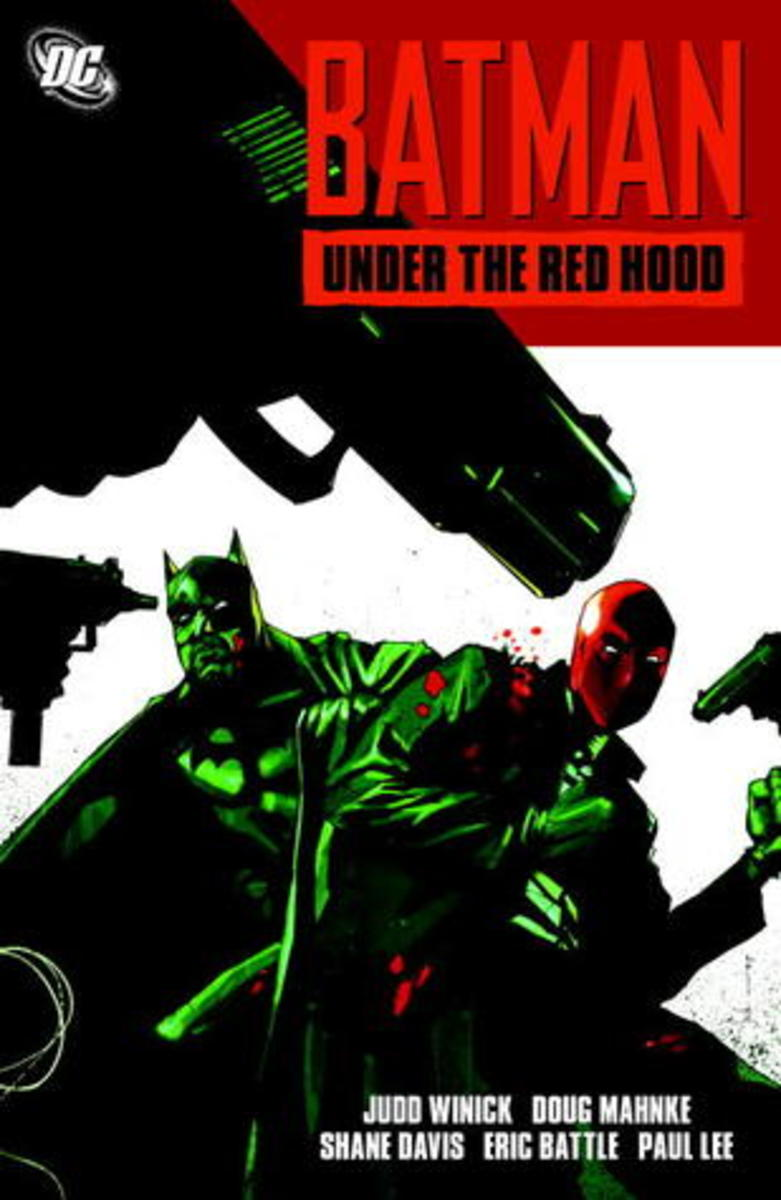 Batman: Under the Red Hood graphic novel cover.