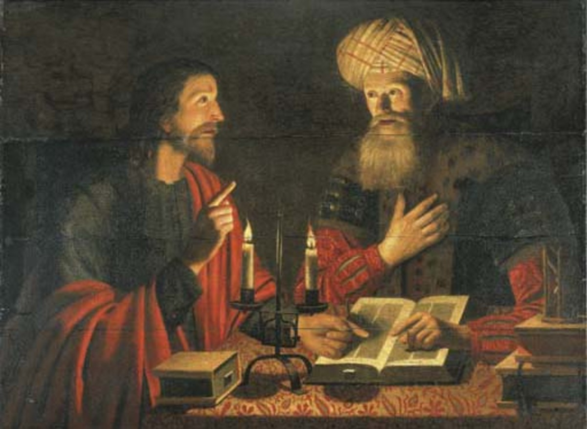 Nicodemus met with Jesus at night because he was convicted that Jesus was the Messiah but was afraid of what the other Jewish Leaders would think.of his meeting with an unknown Galilean teacher.