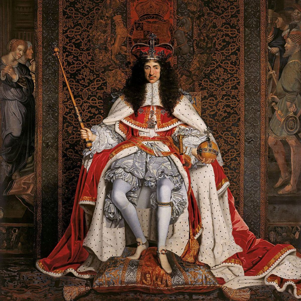 The 14 Mistresses of King Charles II and at Least 11 Illegitimate Children