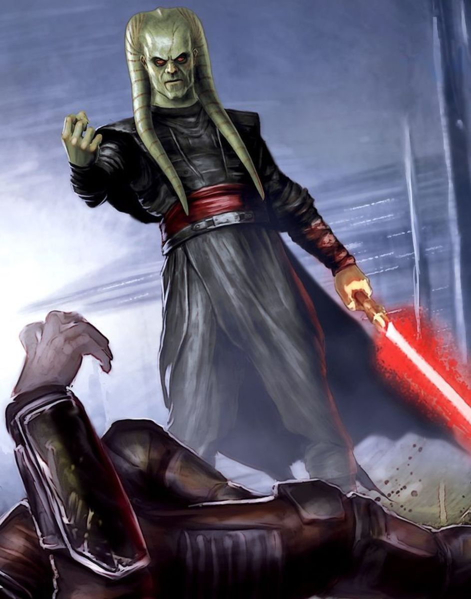 Lord Kas'im: The Blademaster Sith Lord from Star Wars