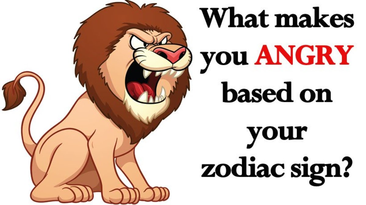 What Makes Your Zodiac Sign Angry?