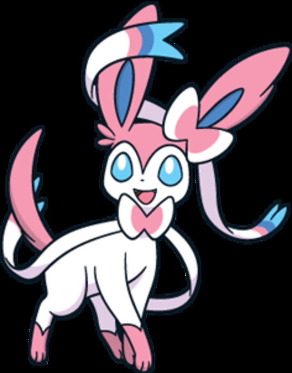"""Sylveon, the """"Intertwining"""" Pokémon"""