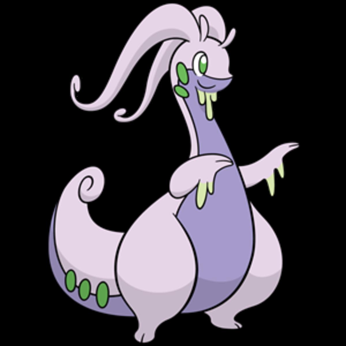 "Goodra, the ""Dragon"" Pokemon"