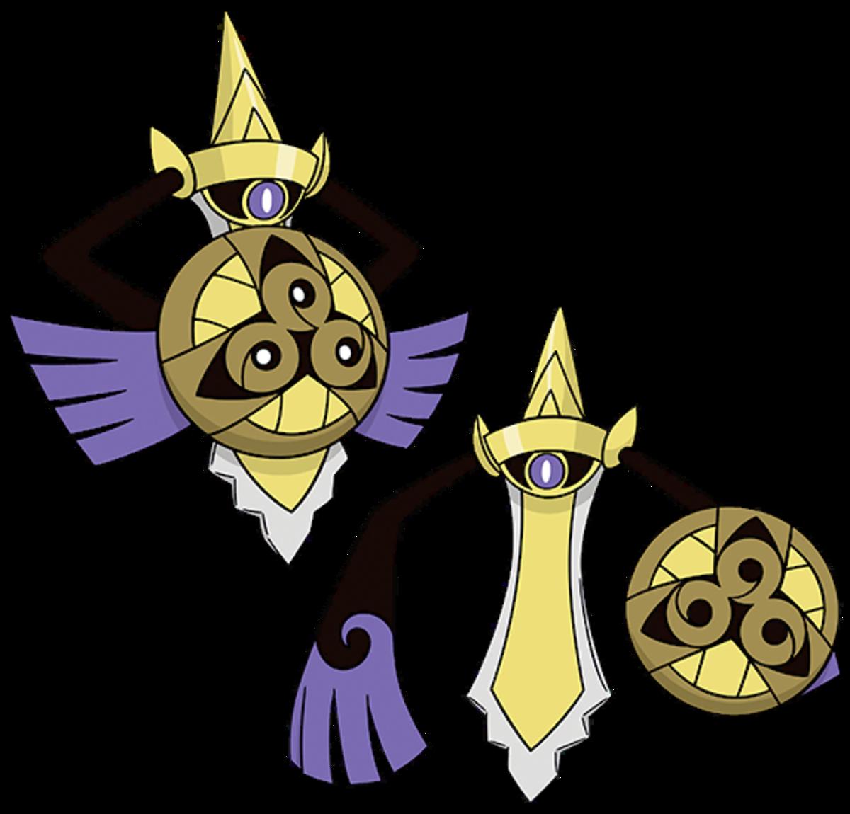 "Aegislash, the ""Royal Sword"" Pokémon"