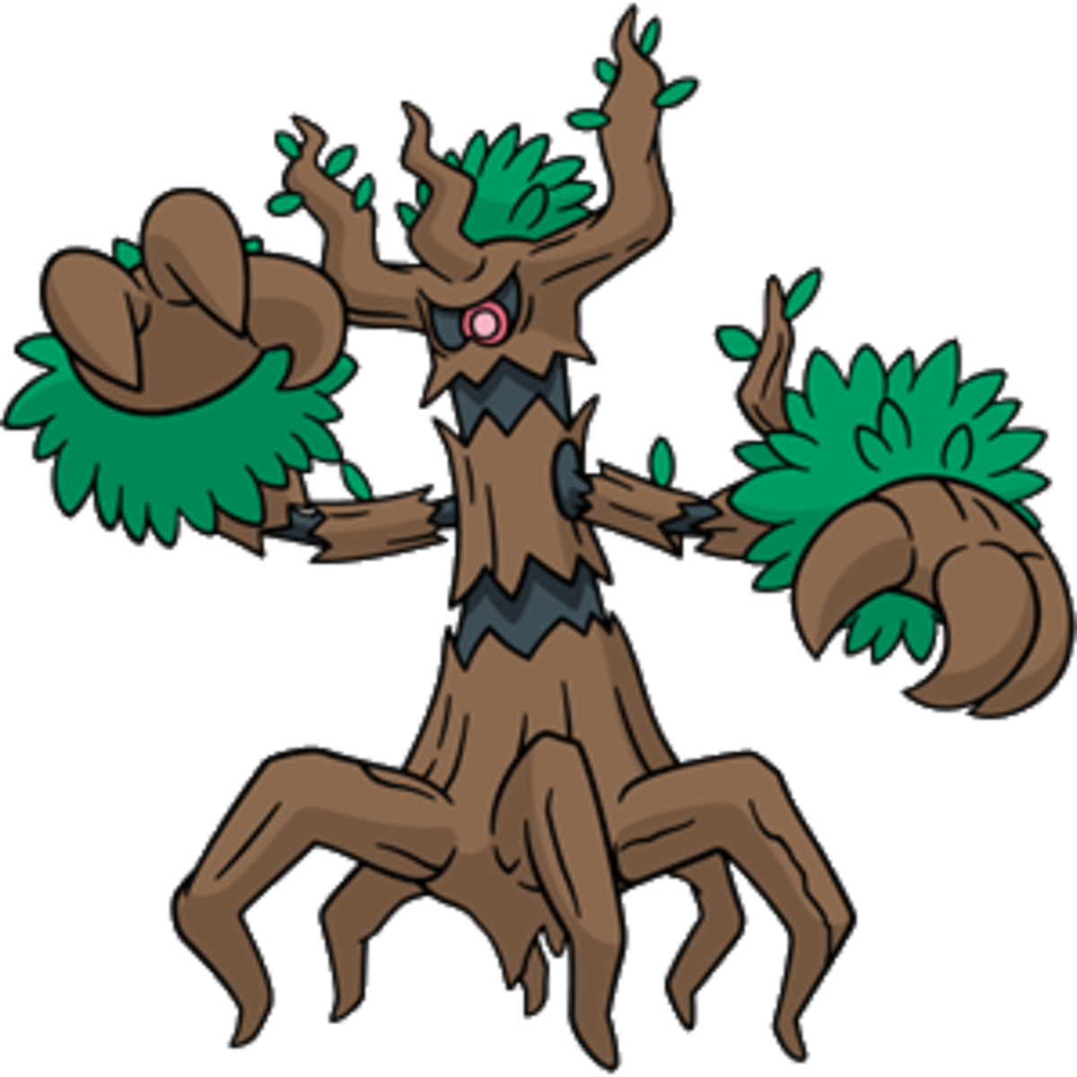 "Trevenant, the ""Elder Tree"" Pokémon"