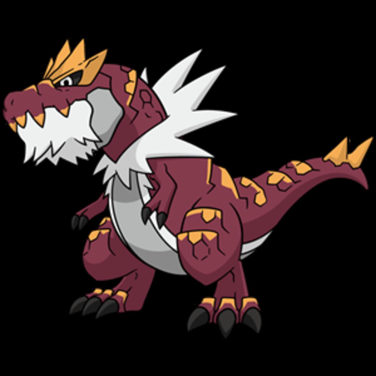 """Tyrantrum, the """"Despot"""" Pokémon"""