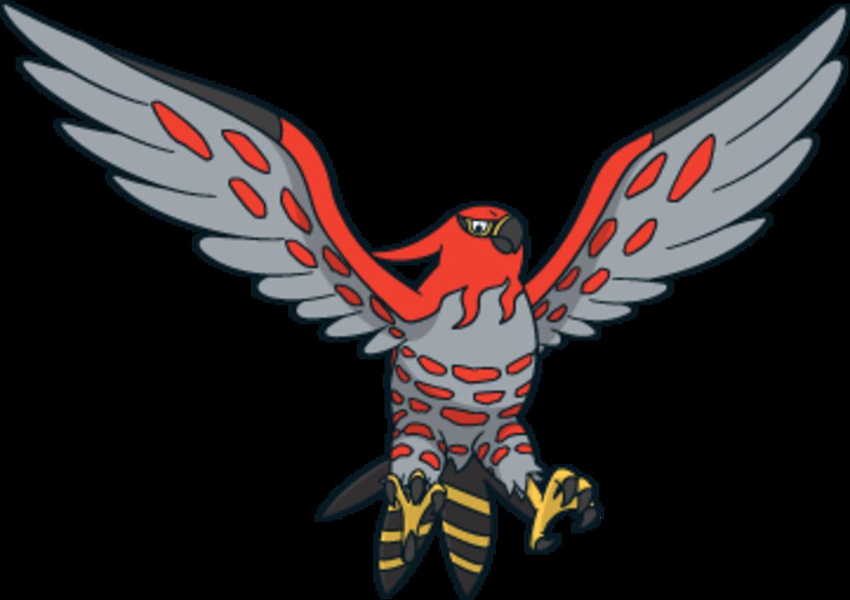 "Talonflame, the ""Scorching"" Pokémon"