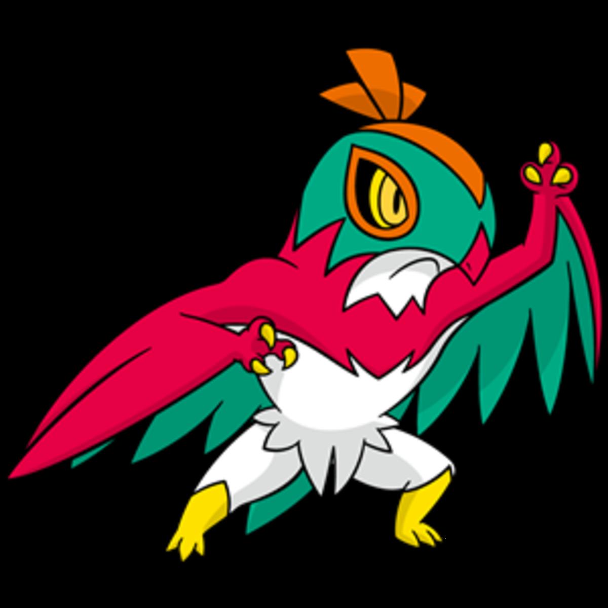 "Hawlucha, the ""Wrestling"" Pokémon"