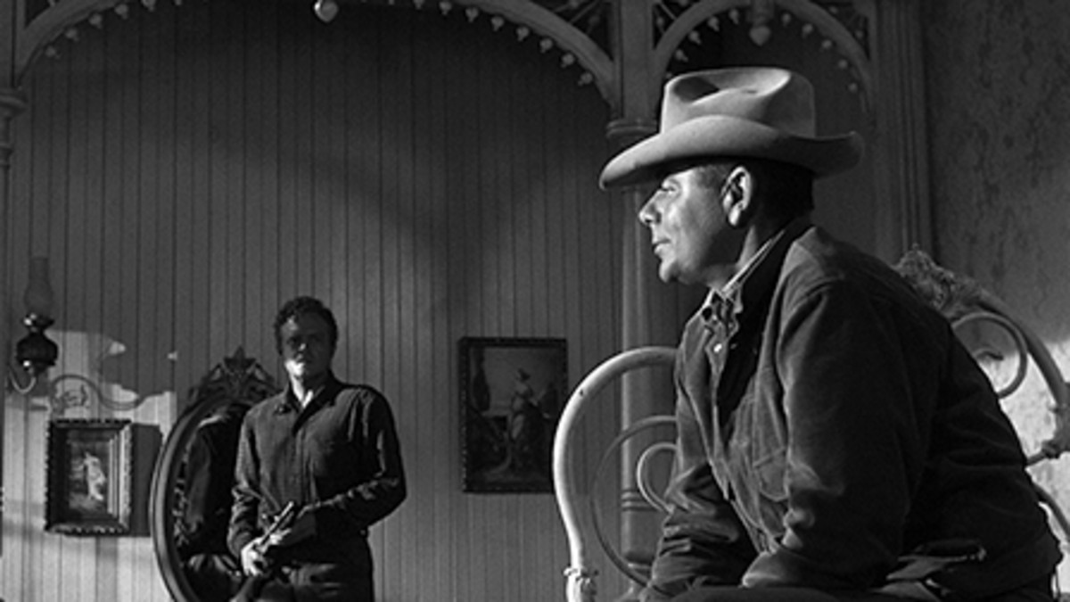 Van Heflin and Glenn Ford
