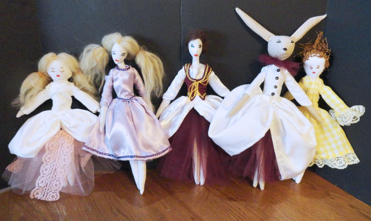 My little ballerina dolls