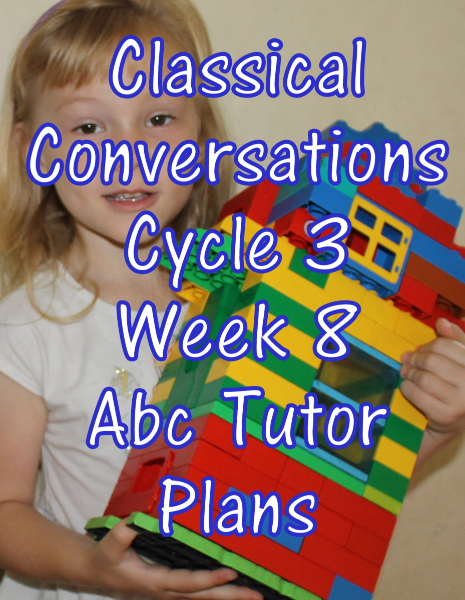 Classical Conversations CC Cycle 3 Week 8 Lesson for Abecedarians - CC C3W8