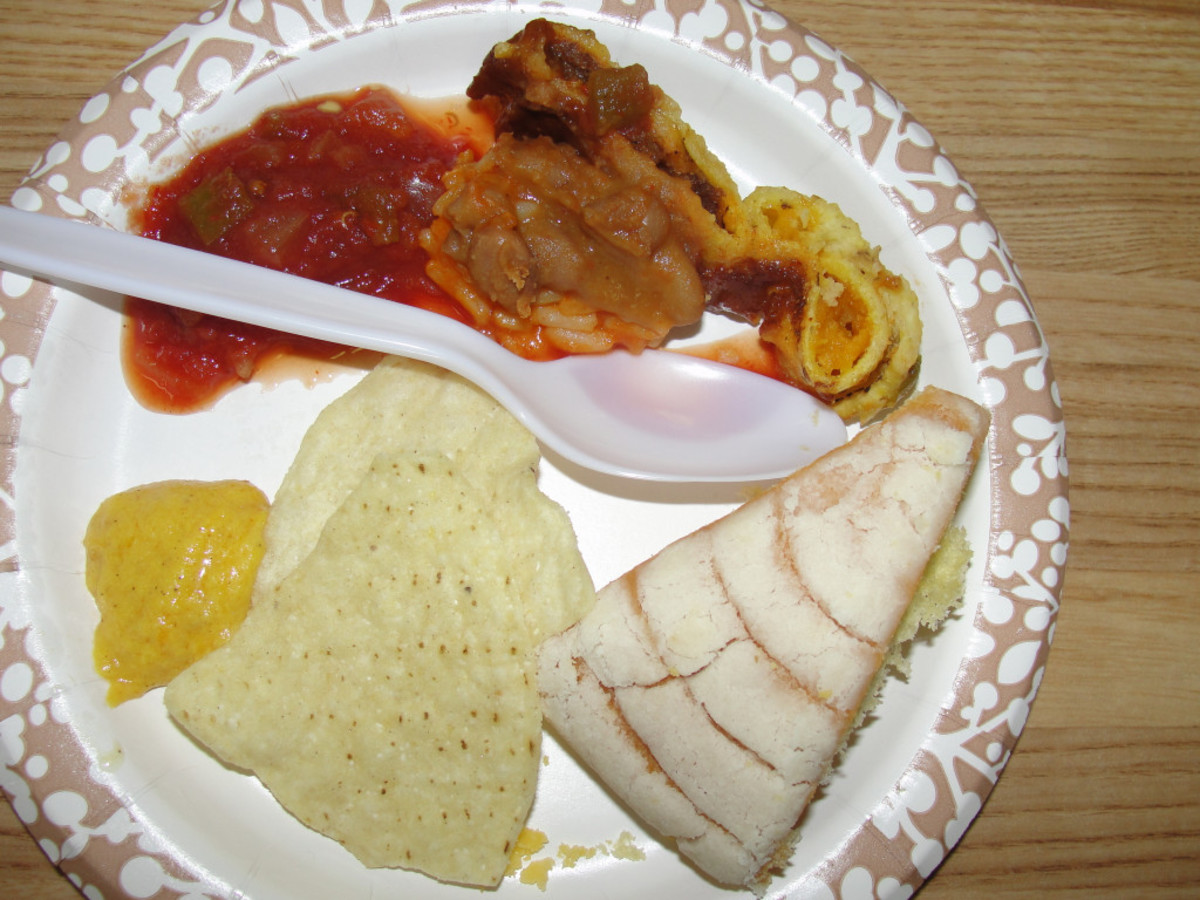 Geography Morning Basket Activity: Southwest Tex-Mex Sampler Plates