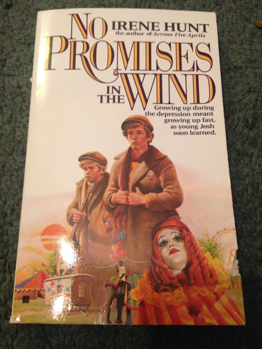 """No Promises in the Wind"" by Irene Hunt"