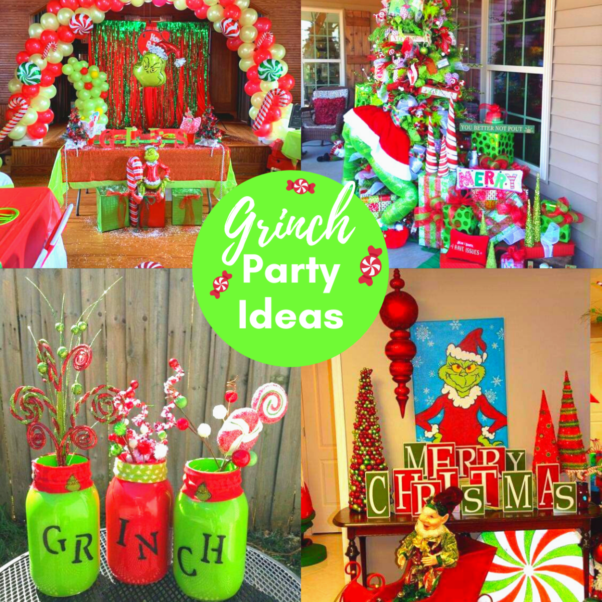 Grinch Themed Christmas Party Ideas