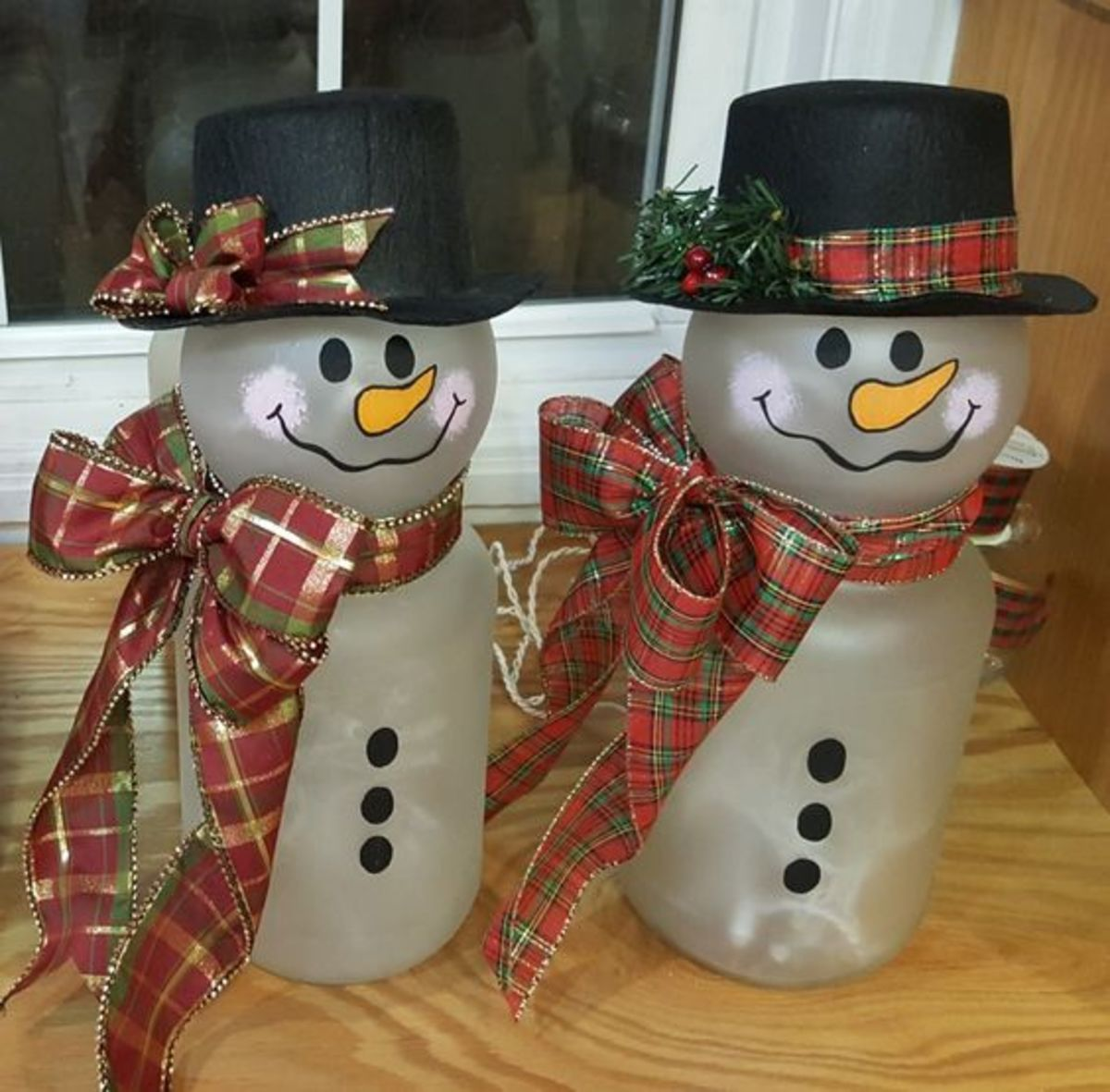 Pickle Jar Snowman Christmas Crafts Hubpages