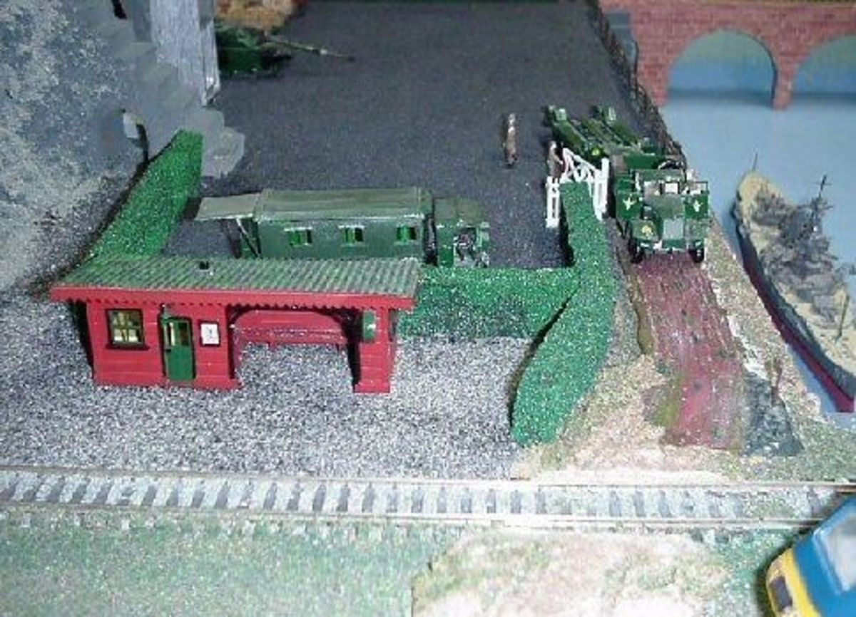 Railway Village Military Station
