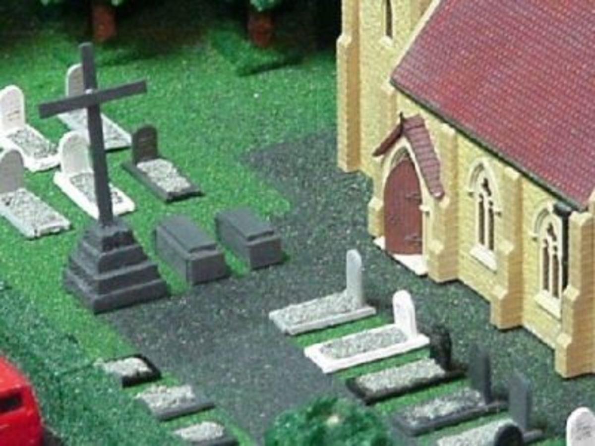 Tombstones in Village Church Yard