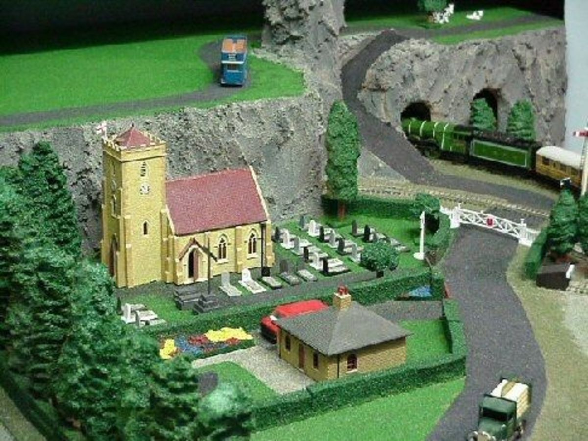 How-To Guide to Make a Model Railway Village